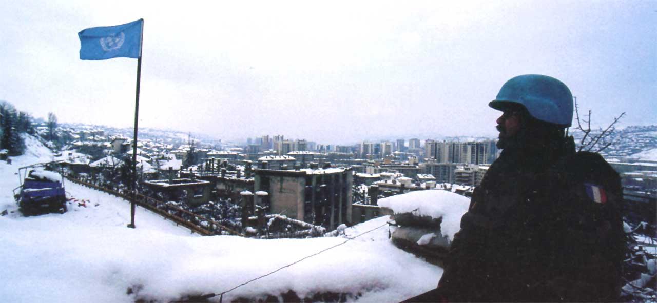 En sentinelle - Sarajevo - 1995